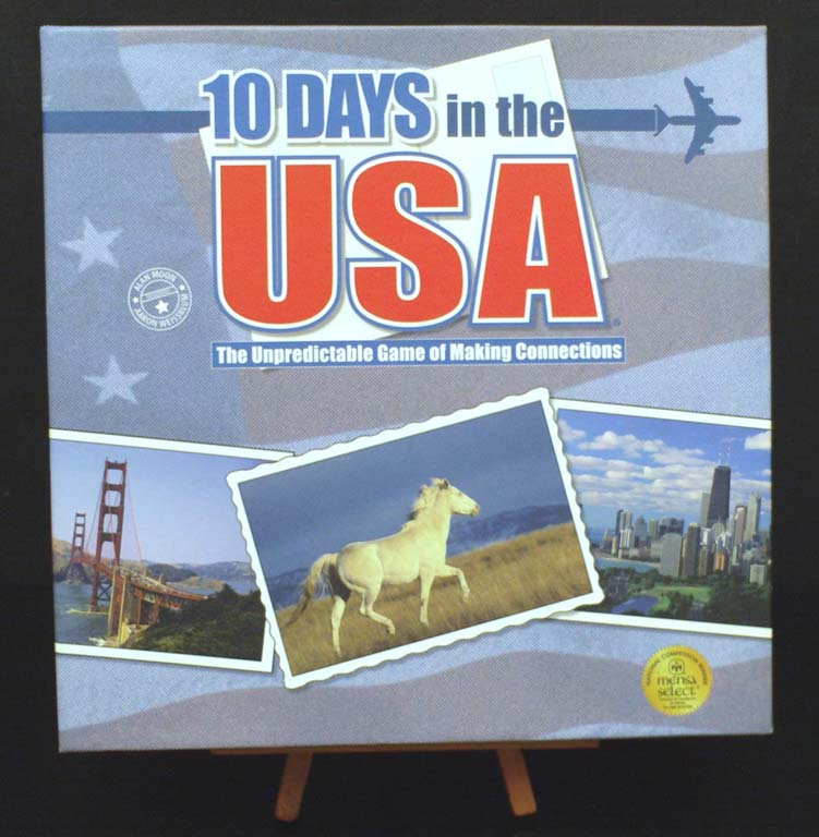 10 Days in USA Cover