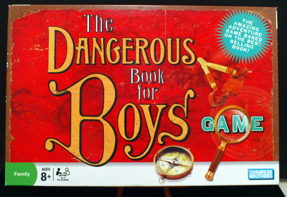 Dangerous Book for Boys Game