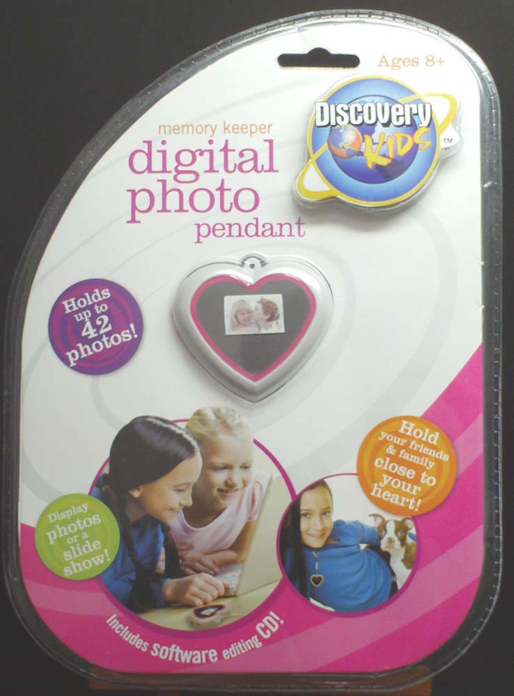 Digital Photo Pendant <front>