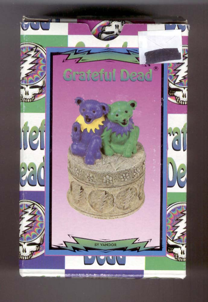 Gratful Dead Dancing Bear Mini Box <front>