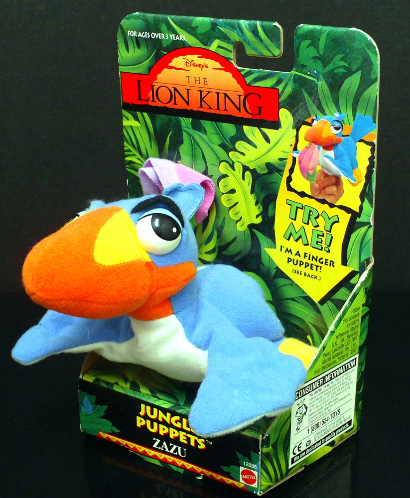 Jungle Puppets Zazu