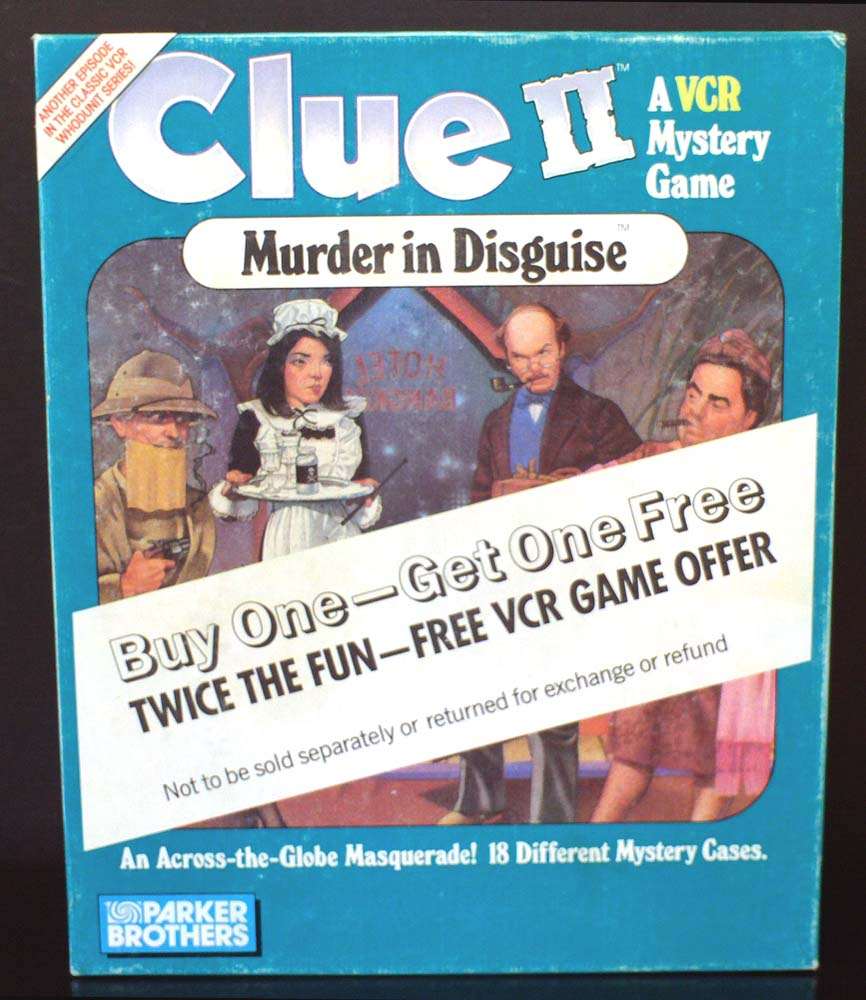 Clue 2 VCR Mystery