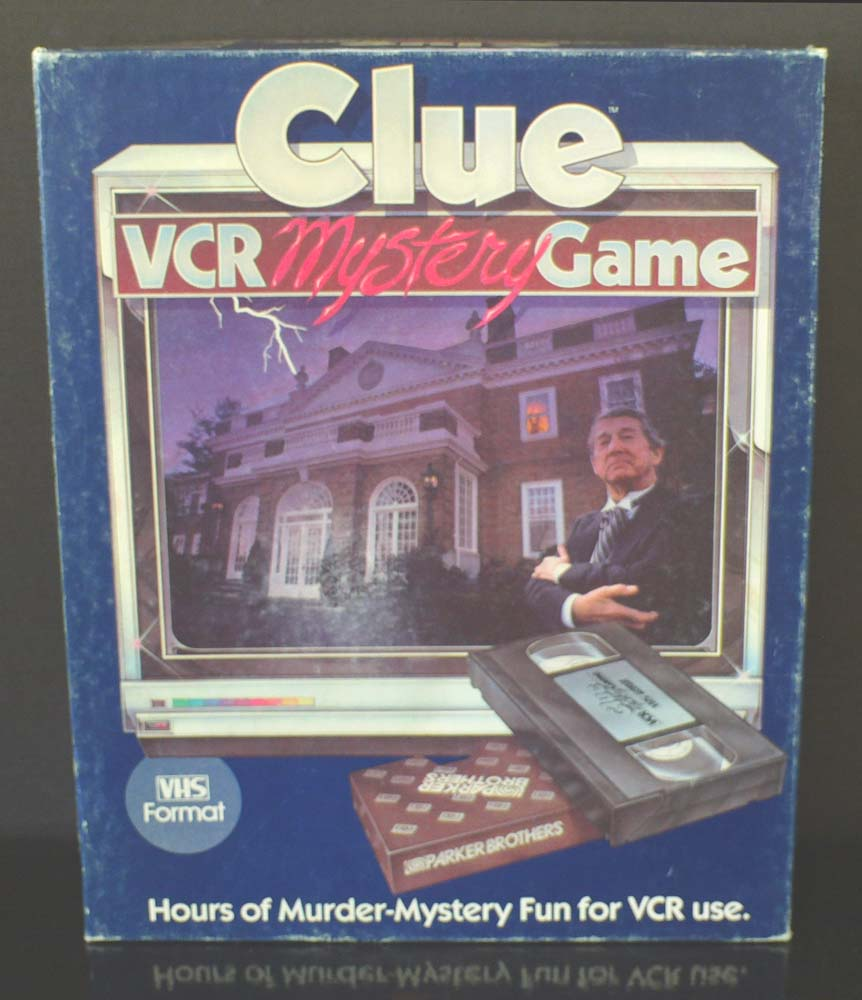 Clue VCR Mystery