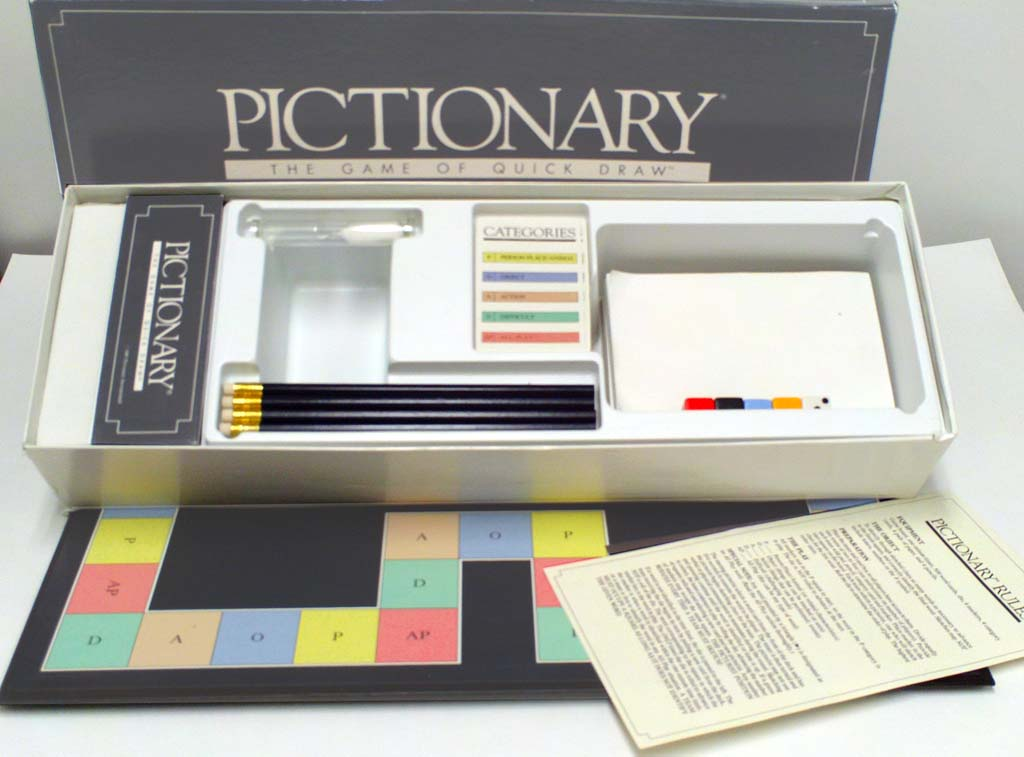 Pictionary 1st Edition Inside