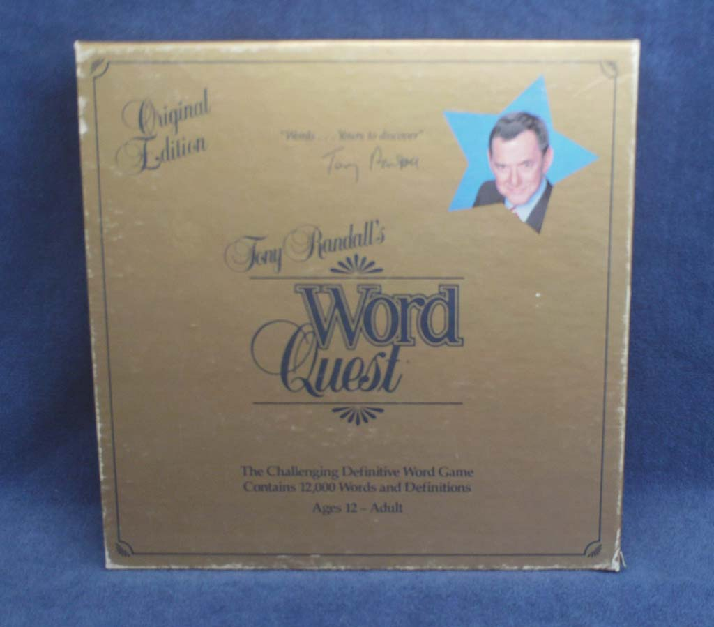 Tony Randall's Word Quest <front>