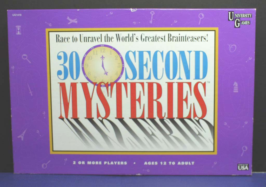 30 Second Mysteries <cover>