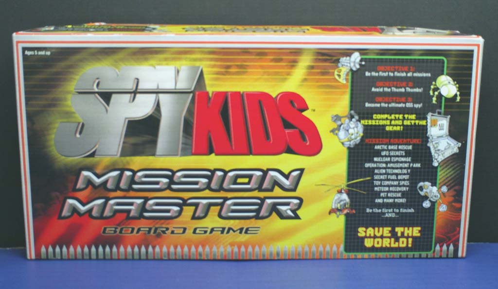 SpyKids Mission Master Game