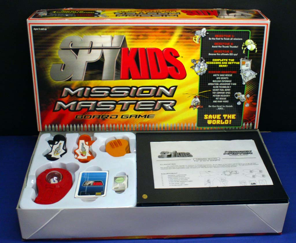 Spy Kids Missioon Master Game