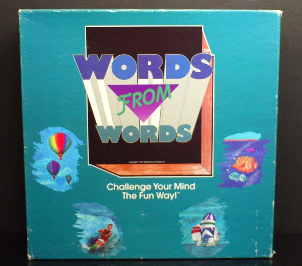 Words from Words Game Cover