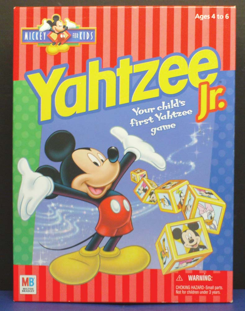 Mickey for Kids Yahtzee Jr